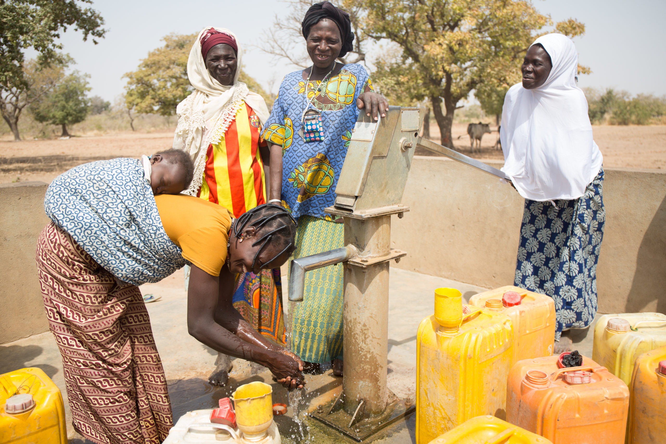 WaterAid and Helmsley Partner to Improve Water, Sanitation and Hygiene for Thousands of People in Burkina Faso