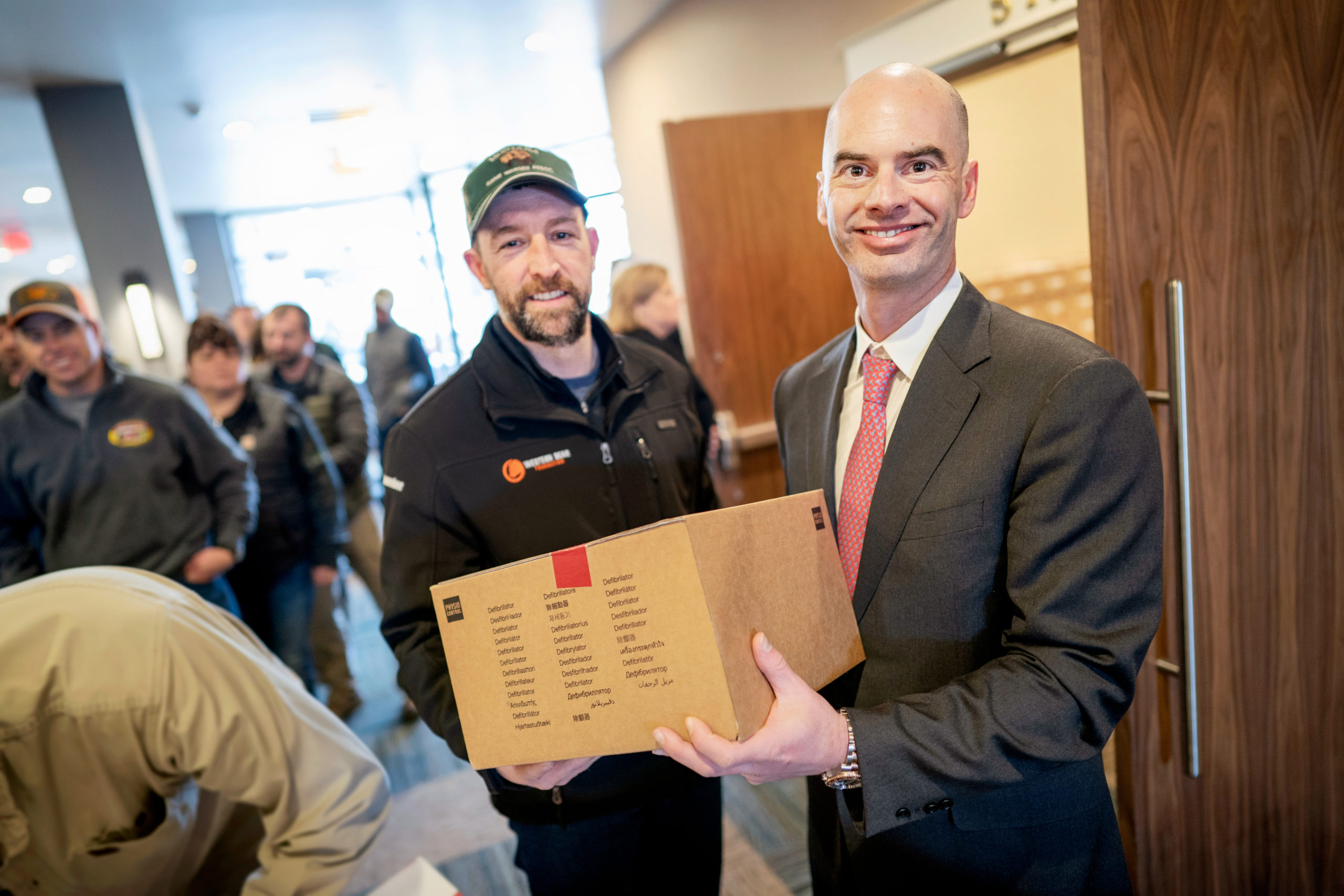 State Receives $6.4 Million from Helmsley Charitable Trust for Automatic Defibrillator Devices